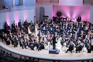 MOSCOW - SEPTEMBER 8: IV Grand Festival of Russian National Orch