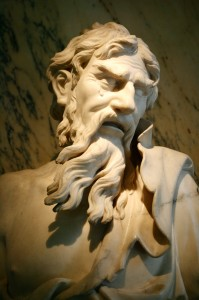 Heraclitus sculpture