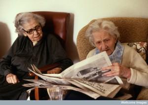 AS0000186FA11 Elderly ladies, residential home